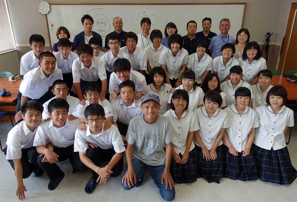 飯野高校3年B組